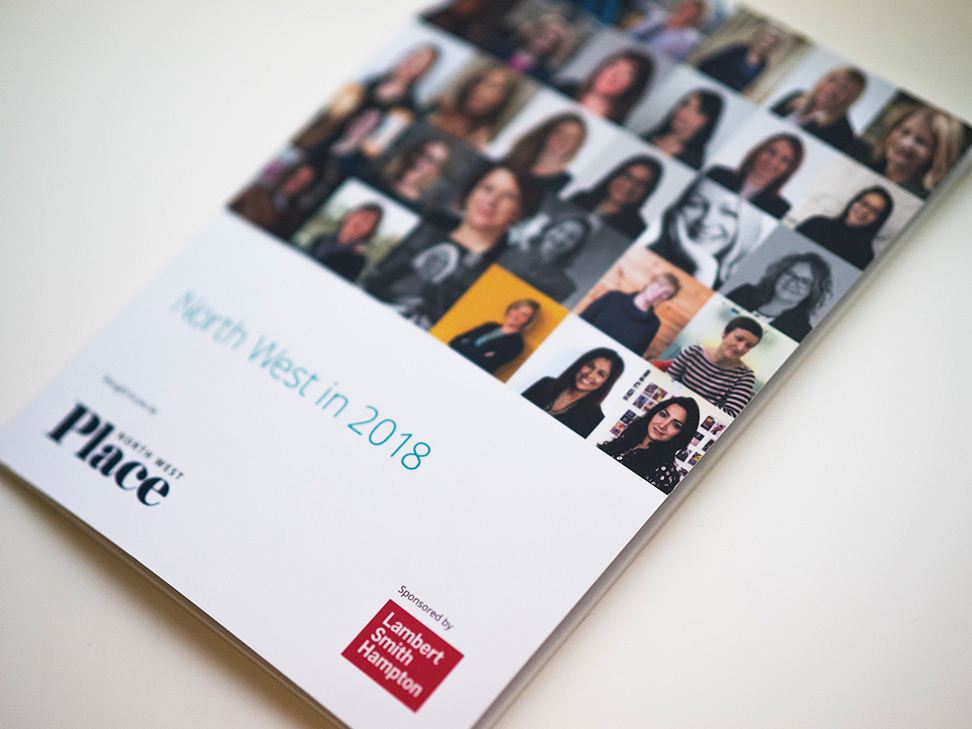 Place North West's 'North West in 2018' special publication