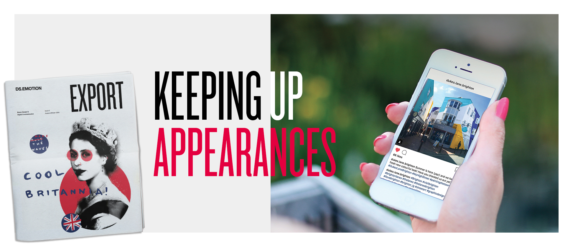 Keeping up appearances – the importance of social media