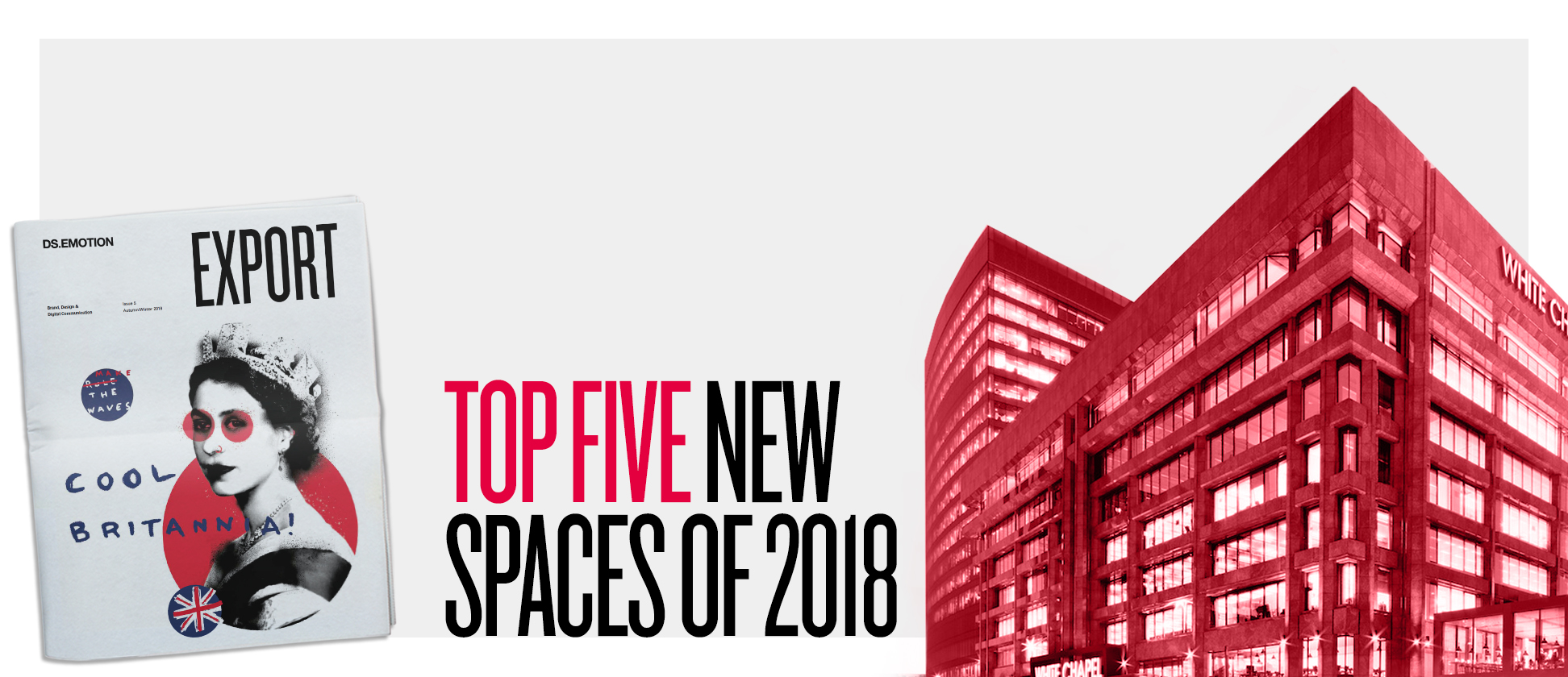 Top five new spaces of 2018
